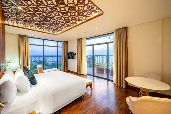 Hơn 70% căn hộ khách sạn tại Best Western Premier Sonasea Phu Quoc có tầm nhìn hướng ra biển