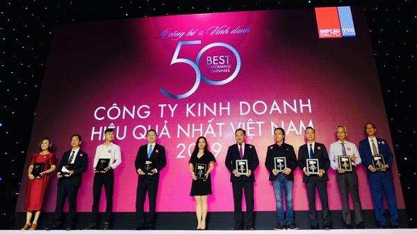 Vinh danh Top 50 Công ty kinh doanh hiệu quả nhất Việt Nam 2019 tại TP. Hồ Chí Minh