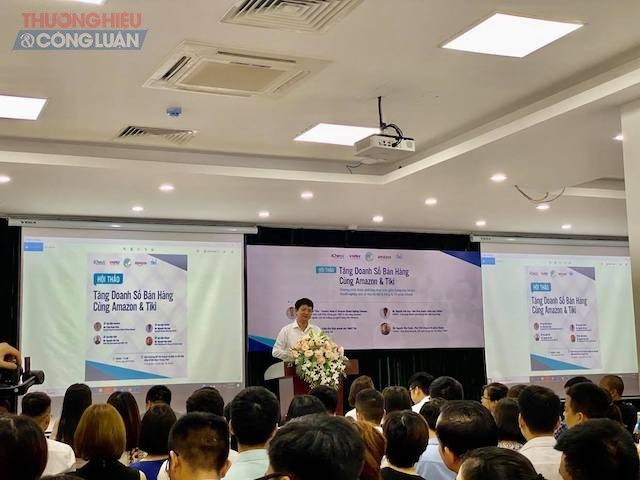 Ông Lê Văn Quân, Giám đốc Trung tâm hỗ trợ Doanh nghiệp nhỏ và vừa, Sở Kế hoạch và Đầu tư Hà Nội (Ảnh: Trúc Mai)