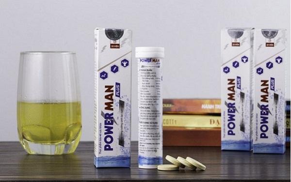 sản phẩm thực phẩm bảo vệ sức khỏe Powerman Plus