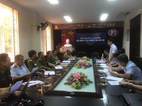 Ông Vũ Hùng Sơn – Phó Chánh văn phòng thường trực BCĐ 389 Quốc Gia phát biểu tại hội nghị.