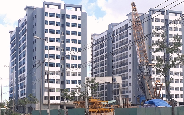 Dự án khu chung cư nhà ở xã hội khu công nghiệp Hòa Khánh