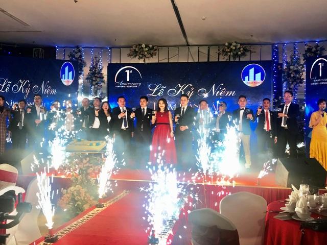 Bất động sản Nhật Nam tổ chức kỷ niệm 1 năm thành lập tại Hà Nội