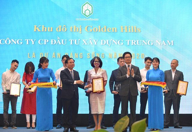 Thương hiệu Khu đô thị Golden Hill được vinh danh là dự án đáng sống năm 2020