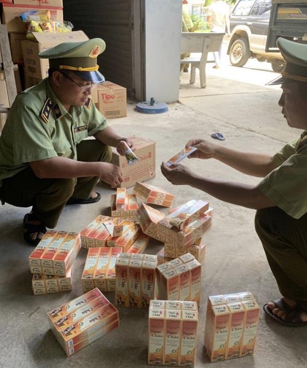 Phát hiện nhiều cơ sở kinh doanh kem đánh răng dược liệu Ngọc Châu có dấu hiệu giả mạo nhãn hiệu tại địa bàn huyện Bắc Quang, tỉnh Hà Giang