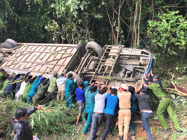 đã có tổng cộng 17 nạn nhân trong vụ lật xe khách đã xuất viện.