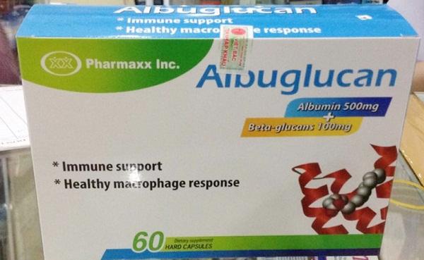Sản phẩm thực phẩm bảo vệ sức khỏe Albuglucan quảng cáo không đúng sự thật