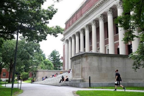 Khuôn viên Đại học Harvard, Mỹ (Ảnh: AFP)