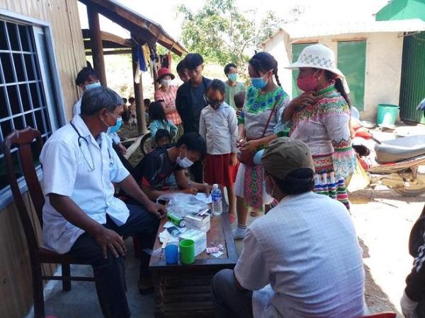 Sở Y tế Đắk Lắk kiểm tra công tác tiêm vaccine ở huyện Krông Bông.