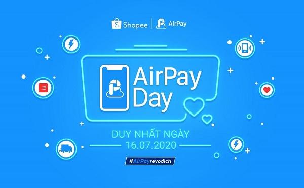 Bùng nổ mua sắm của các tín đồ shopping tại Shopee với hàng loạt voucher ưu đãi siêu HOT khi thanh toán qua ví điện tử AirPay