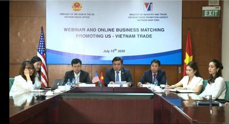 Hội nghị, giao thương trực tuyến: Thúc đẩy thương mại Việt Nam – Hoa Kỳ
