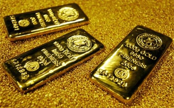 Vàng thế giới mất mốc 1.800 USD/ounce