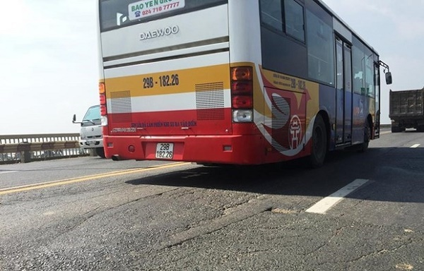 Nhiều tuyến xe buýt đi qua cầu Thăng Long sẽ được điều chỉnh tạm thời trong quá trình triển khai dự án sửa chữa cầu Thăng Long.