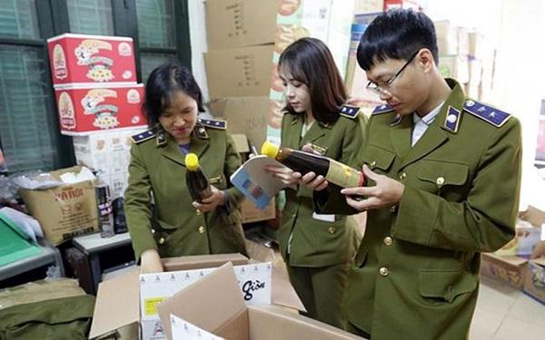 Lực lượng chức năng của thành phố Hà Nội đã xử lý hơn 12 nghìn vụ vi phạm buôn lậu, gian lận thương mại (Ảnh minh họa0