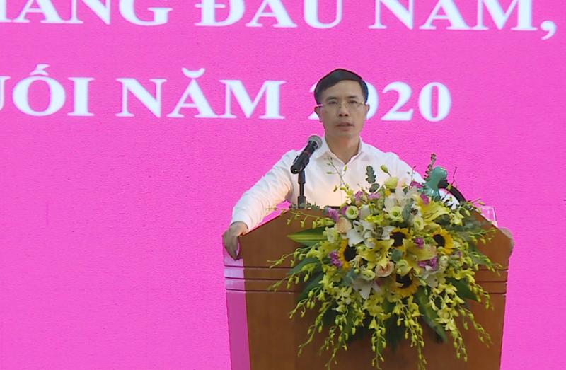 Ông Phạm Đức Ấn - Chủ tịch Hội đồng Thành viên phát biểu chỉ đạo Hội nghị