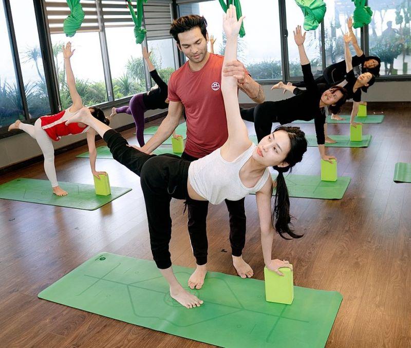 Lớp học yoga tại Green Concept