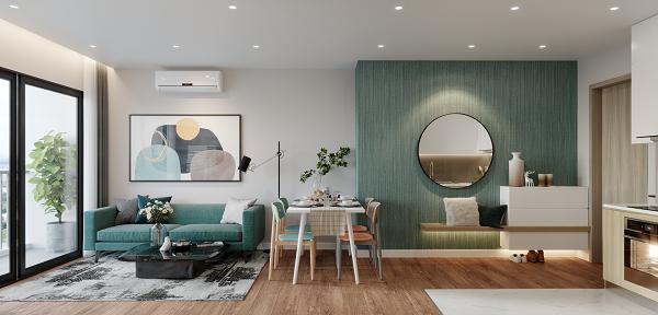 Không gian sống hiện đại, tinh tế trong từng căn hộ