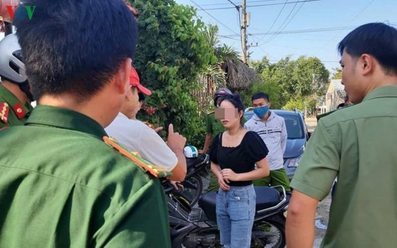 Cơ quan chức năng làm việc với nhóm người Trung Quốc