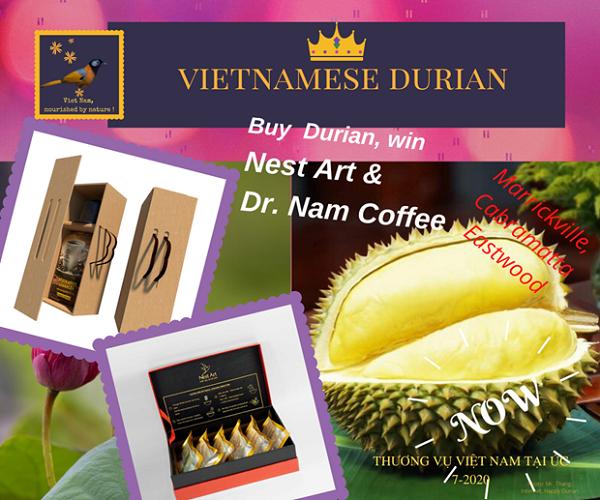 Chương trình quảng bá Tuần lễ sầu riêng Việt Nam tại Australia do Thương vụ và Công ty ASEAN phối hợp thực hiện