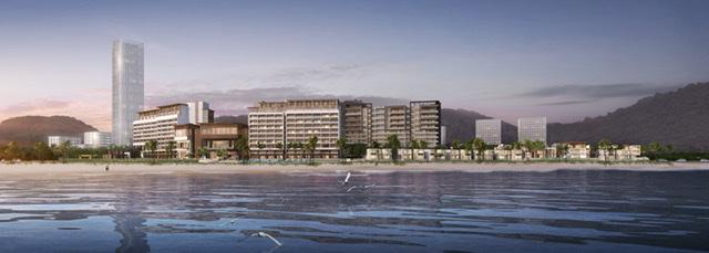 Dự án gồm 41 biệt thự và 60 căn hộ nghỉ dưỡng được thương hiệu quốc tế quản lý