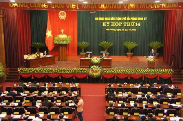 Kỳ họp thứ 14 HĐND thành phố Hải Phòng khóa XV