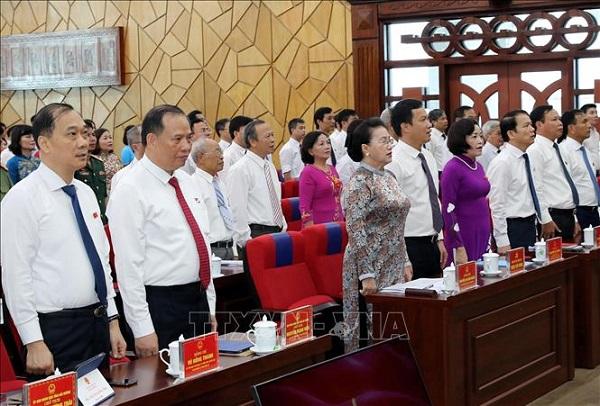 Khai mạc Kỳ họp thứ 13 Hội đồng nhân dân tỉnh Hải Dương nhiệm kỳ 2016 - 2021.