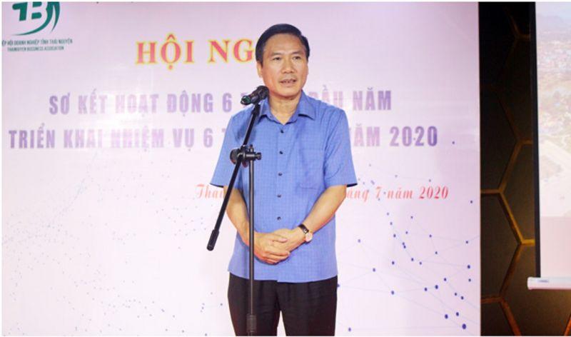 Đồng chí Vũ Hồng Bắc, Phó Bí thư Tỉnh ủy, Chủ tịch UBND tỉnh phát biểu tại Hội nghị