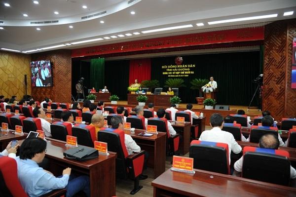Kỳ họp thứ 13 HĐND tỉnh Hải Dương khóa XVI