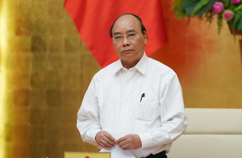 Yêu cầu Ủy ban nhân dân thành phố Đà Nẵng tổ chức triển khai khẩn trương, quyết liệt các chỉ đạo của Thủ tướng Nguyễn Xuân Phúc tại cuộc họp Thường trực Chính phủ về phòng, chống dịch COVID-19. Ảnh VGP