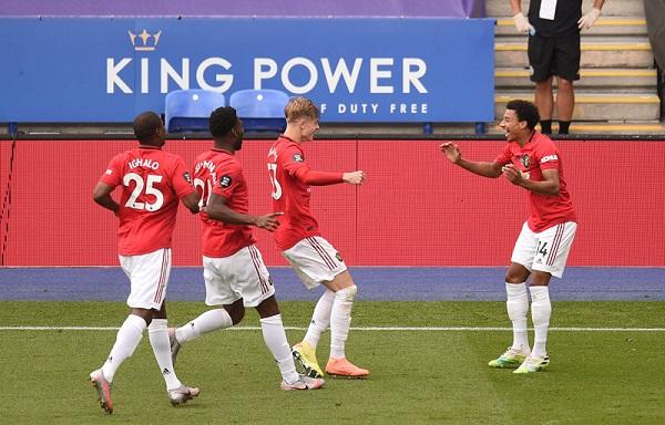 Với chiến thắng 2-0 trước Leiceter ở vòng 38, MU hiên ngang giành vé Champions League mùa sau