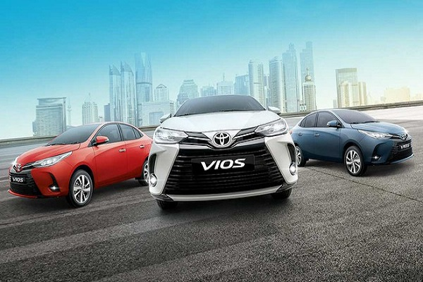 Toyota Vios 2021 có giá từ 315 triệu đồng tại thị trường Philippines