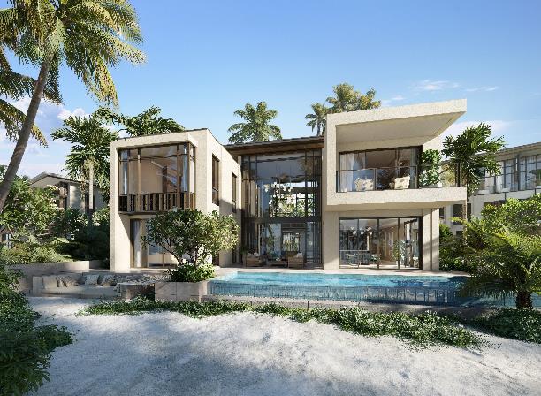 Phối cảnh biệt thự Biển Hạ - Beach Villa