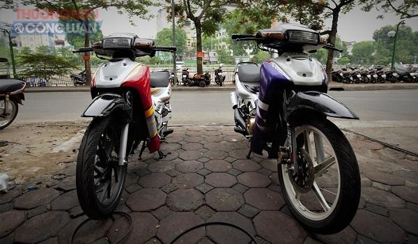 Suzuki Sport hay còn được gọi là Xì-po, dòng xe 2 thì phổ biến nhất ở Việt Nam, được nhiều người yêu thích và tin tưởng sử dụng cho đến tận nay. 2 mẫu xe phổ biến nhất cảu dòng Sport là Satria và RGV, ngoài ra còn có những mấu hiến thấy hơn như Akira hay Stinger…