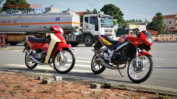 Ngoài Suzuki thì Honda và Yamaha cũng có những mấu xe 2 thì đã trở thành tượng đài trong lòng người chơi xe Việt Nam, với Honda đó là những mẫu Nova Dash, hay LS...