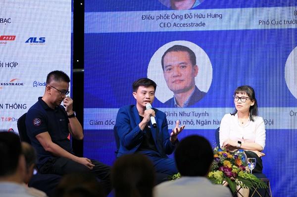 Ông Phạm Tấn Đạt - Tổng Giám đốc Fado chia sẻ tại Diễn đàn