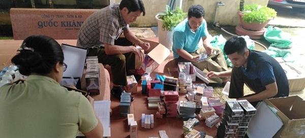 Gia Lai thu giữ hơn 1.000 sản phẩm hàng hóa giả mạo nhãn hiệu