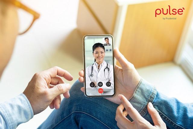 Tư vấn sức khỏe miễn phí với bác sĩ trực tuyến cho người dùng trên ứng dụng Pulse by Prudential.