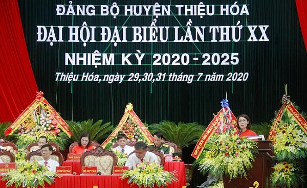 Huyện Thiệu Hóa phấn đấu đến năm 2025 trở thành huyện khá, đến năm 2030 trong nhóm các huyện dẫn đầu của tỉnh
