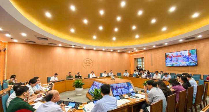 Phiên họp thứ 45 của Ban Chỉ đạo chống dịch COVID-19 Hà Nội