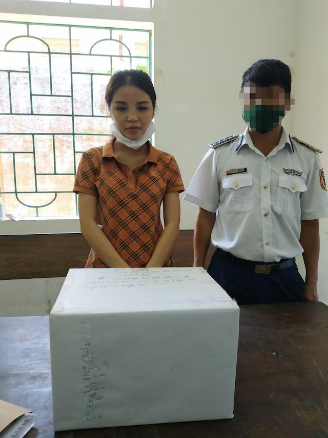 Đối tượng Nguyễn Thị Thúy (sinh năm 1994, HKTT tại xã Thanh Giang, huyện Thanh Chương, tỉnh Nghệ An) có hành vi vận chuyển trái phép chất ma túy