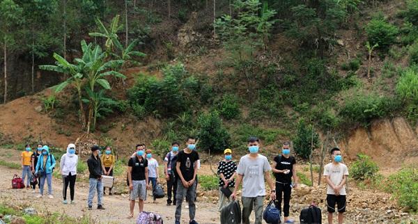Lạng Sơn: Bắt giữ 32 người nhập cảnh trái phép từ Trung Quốc vào Việt Nam