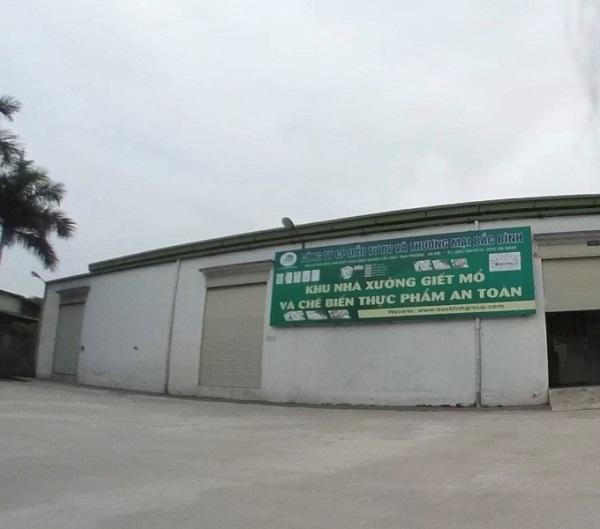 Công ty CP Xuất khẩu thực phẩm cho thuê đất làm