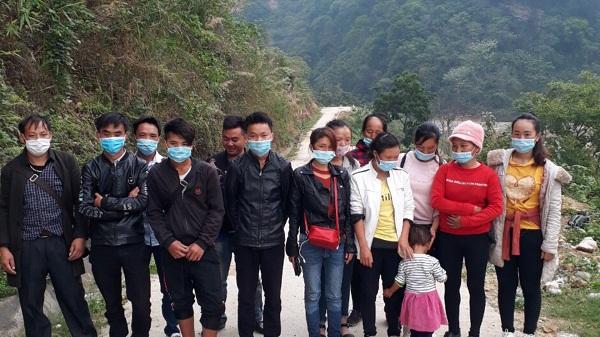 Biên phòng Lào Cai bắt giữ 9 đối tượng nhập cảnh trái phép