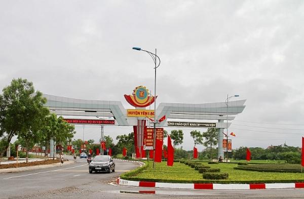 Huyện Yên Lạc phấn xác định nhiệm vụ phát triển kinh tế - xã hội giai đoạn 2021 - 2025.