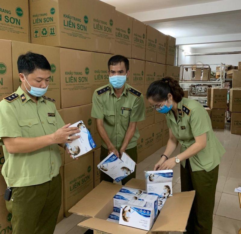 Lô khẩu trang y tế có dấu hiệu không đạt tiêu chuẩn chất lượng
