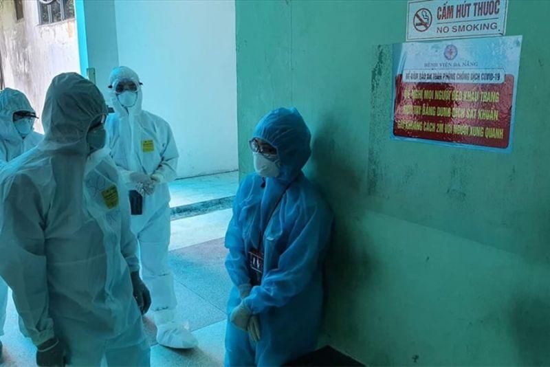 Cán bộ y tế tham gia phòng chống Covid-19. Ảnh: Bộ Y tế cung cấp