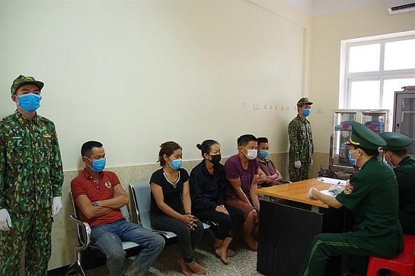 Lực lượng Biên phòng Lạng Sơn bắt giữ nhiều đối tượng nhập cảnh trái phép