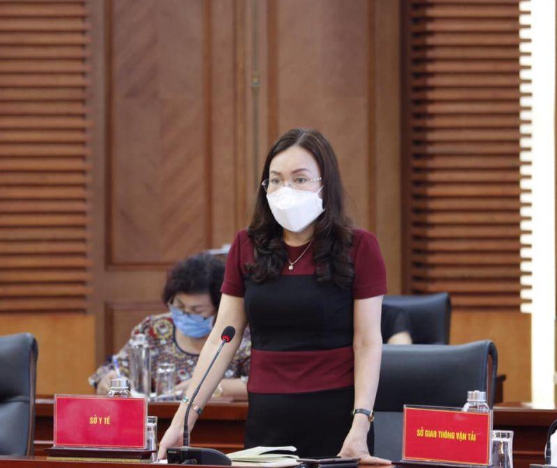 Giám đốc Sở Y tế Phạm Thu Xanh