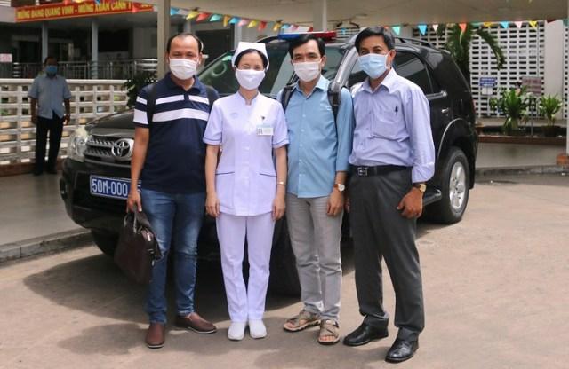 Đội phản ứng số 5 chuẩn bị lên đường chi viện cho BV Đà Nẵng.