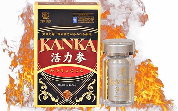 Sản phẩm thực phẩm bảo vệ sức khỏe bổ thận Kanka Katsuryokujin
